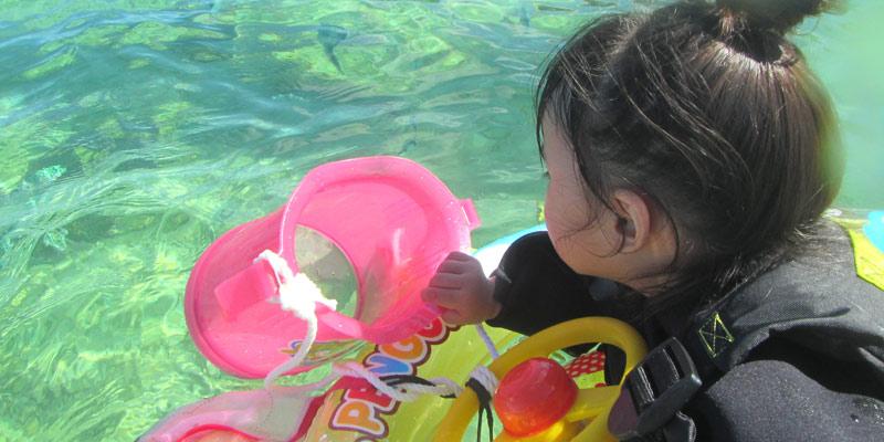 미야코지마 물고기 워치 스노클링
